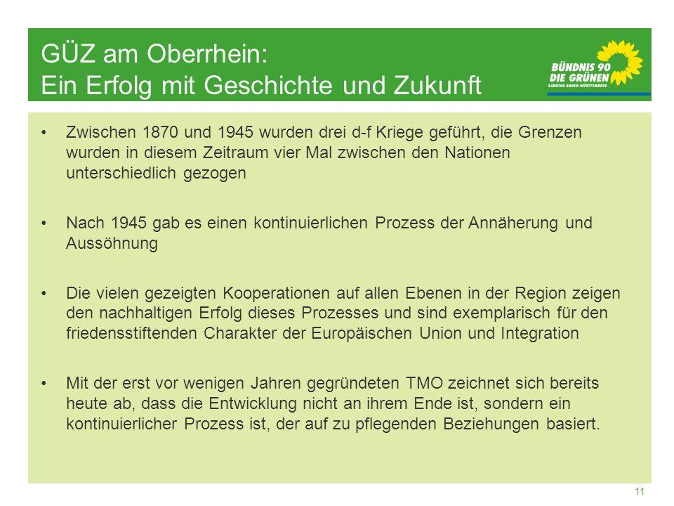 GÜZ am Oberrhein: Ein Erfolg mit Geschichte und Zukunft