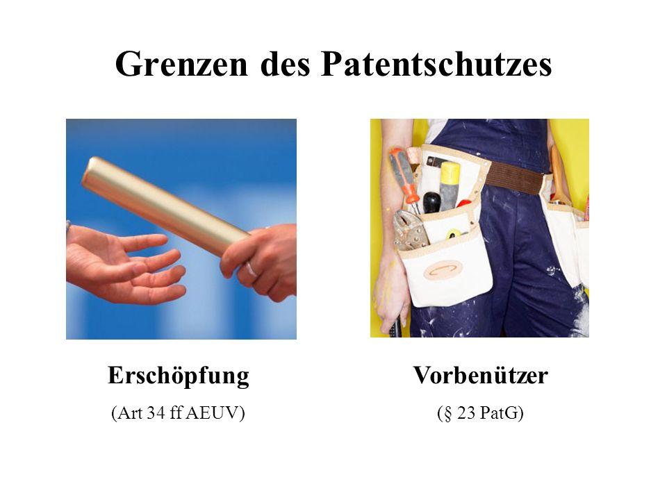 Grenzen des Patentschutzes