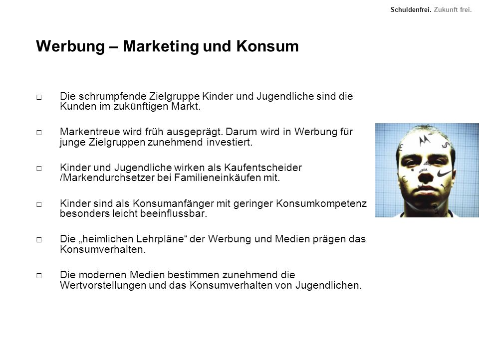 Werbung – Marketing und Konsum