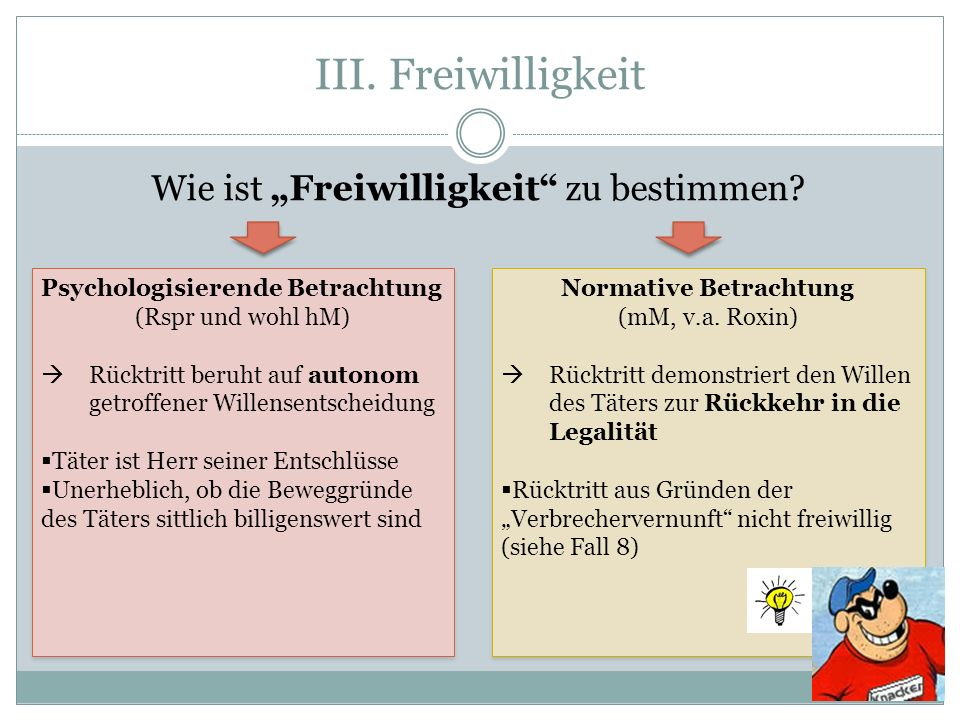 Normative Betrachtung