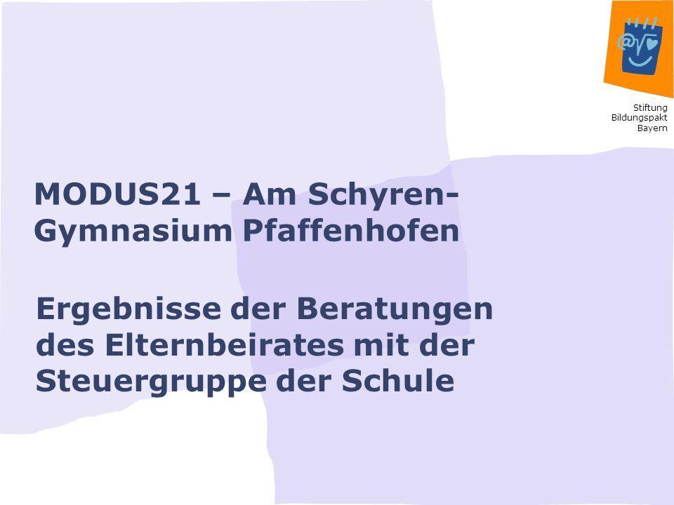MODUS21 – Am Schyren-Gymnasium Pfaffenhofen