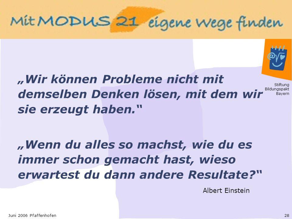 """""""Wir können Probleme nicht mit demselben Denken lösen, mit dem wir sie erzeugt haben."""