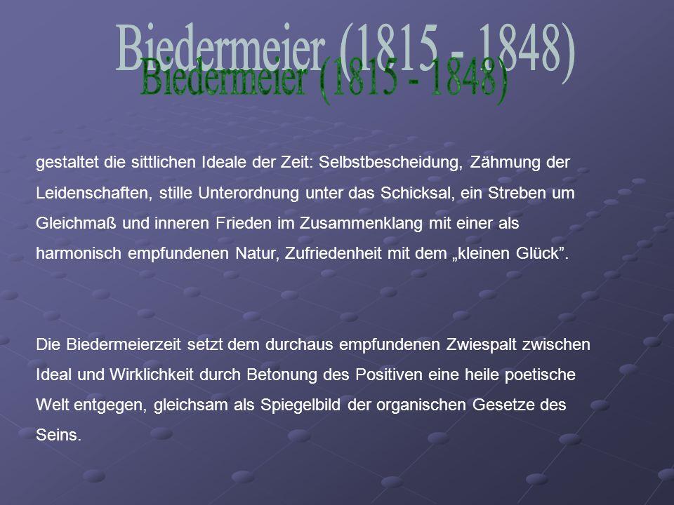 Biedermeier (1815 - 1848)