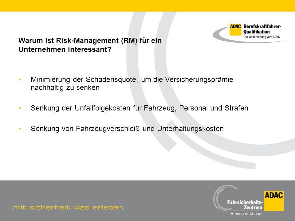 Warum ist Risk-Management (RM) für ein