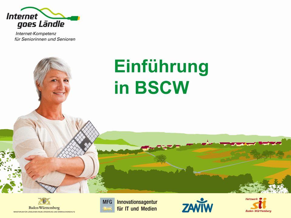 Einführung in BSCW 1