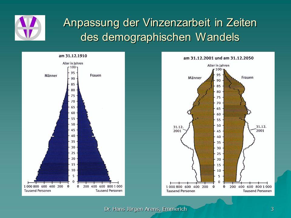 Anpassung der Vinzenzarbeit in Zeiten des demographischen Wandels