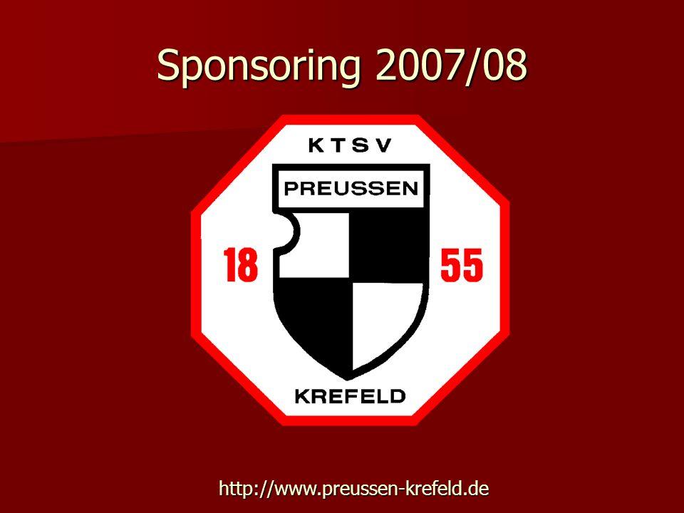 Sponsoring 2007/08 http://www.preussen-krefeld.de