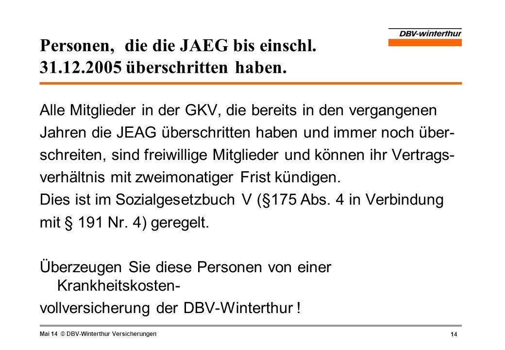 Personen, die die JAEG bis einschl. 31.12.2005 überschritten haben.