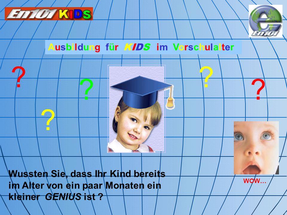 Ausbildung für KIDS im Vorschulalter
