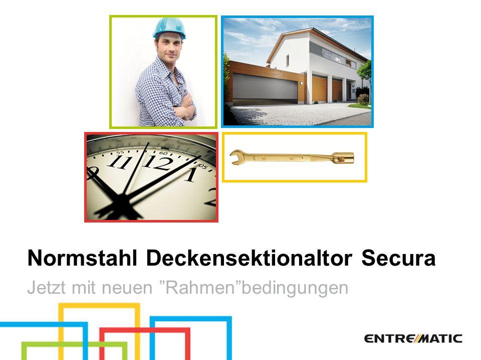 Normstahl Deckensektionaltor Secura