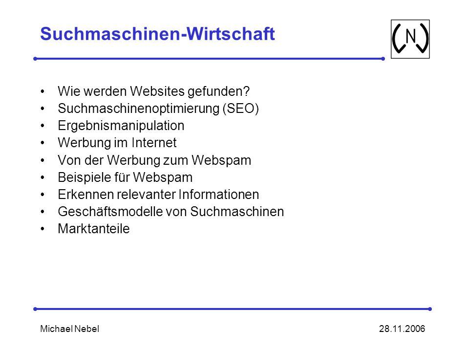 Suchmaschinen-Wirtschaft
