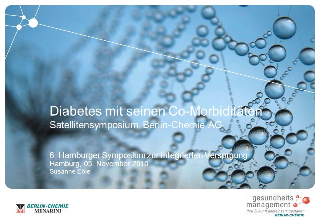 31.03.2017 Diabetes mit seinen Co-Morbiditäten Satellitensymposium Berlin-Chemie AG.