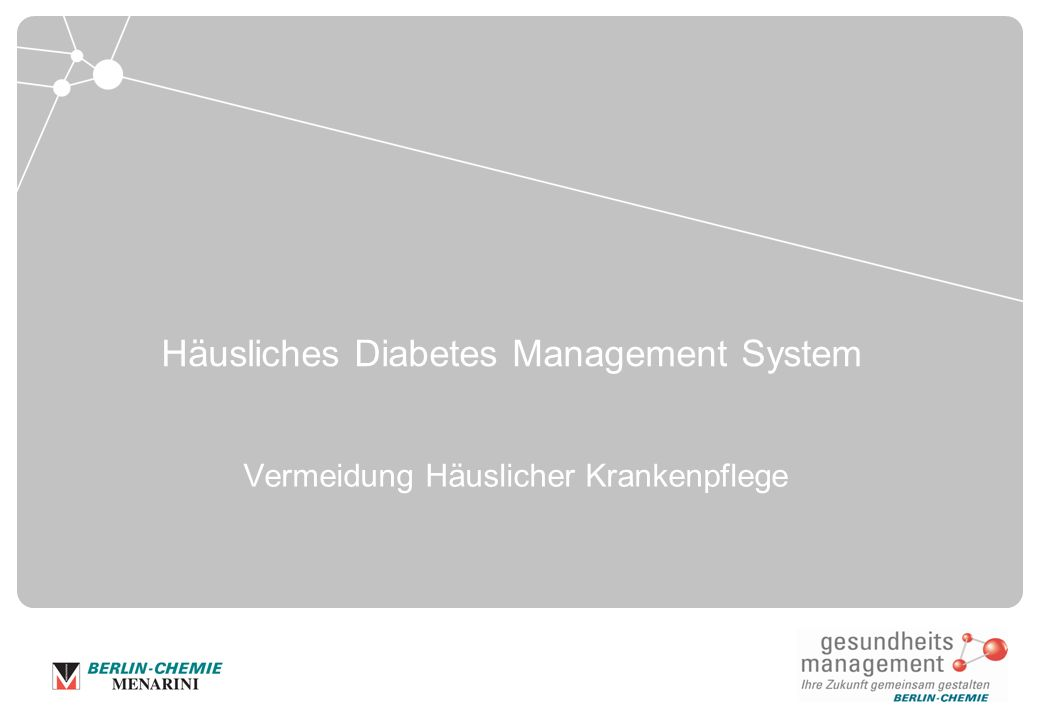 Häusliches Diabetes Management System