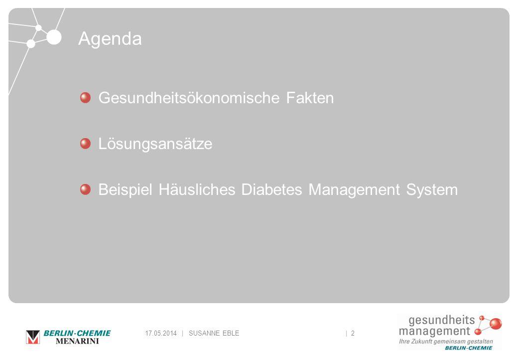 Agenda Gesundheitsökonomische Fakten Lösungsansätze