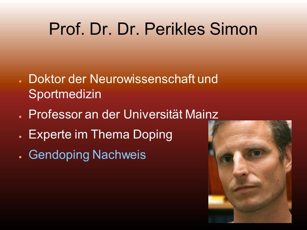 Prof. Dr. Dr. Perikles Simon