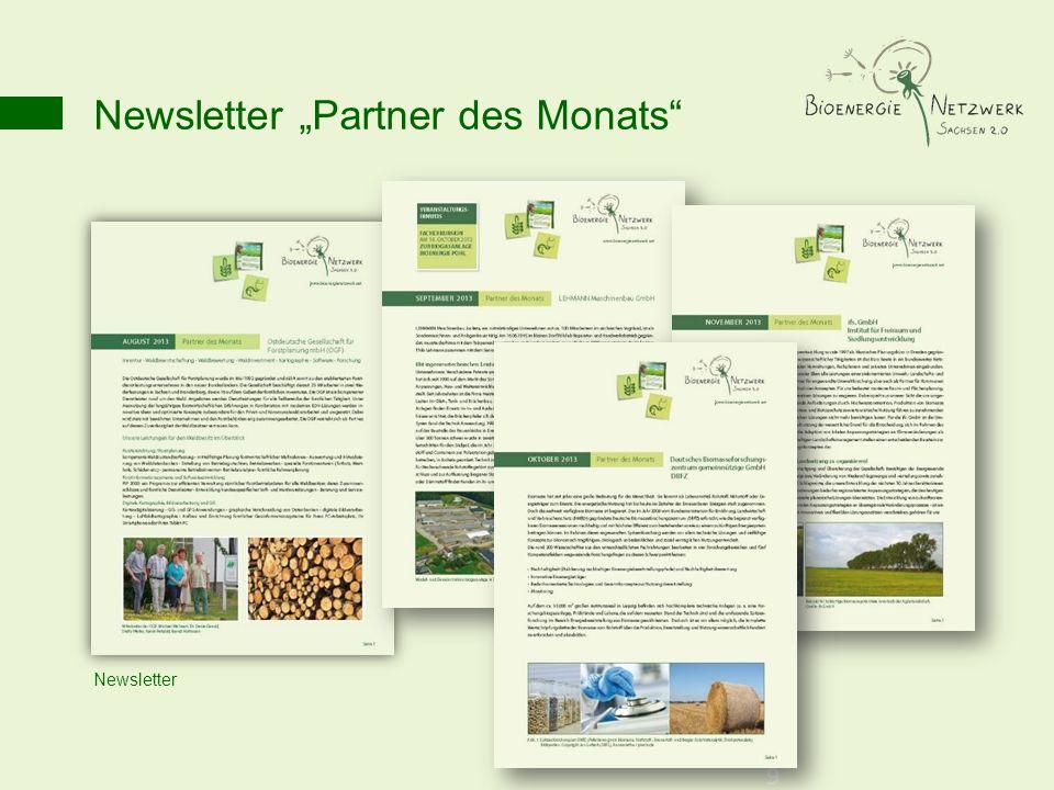 "Newsletter ""Partner des Monats"