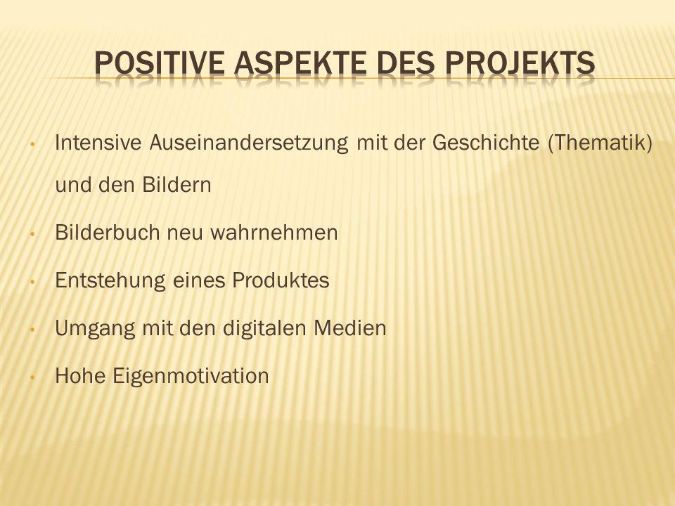 Positive Aspekte des Projekts