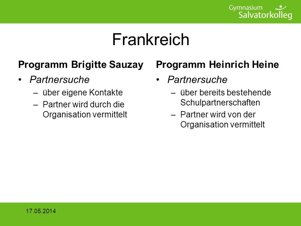 Frankreich Programm Brigitte Sauzay Programm Heinrich Heine