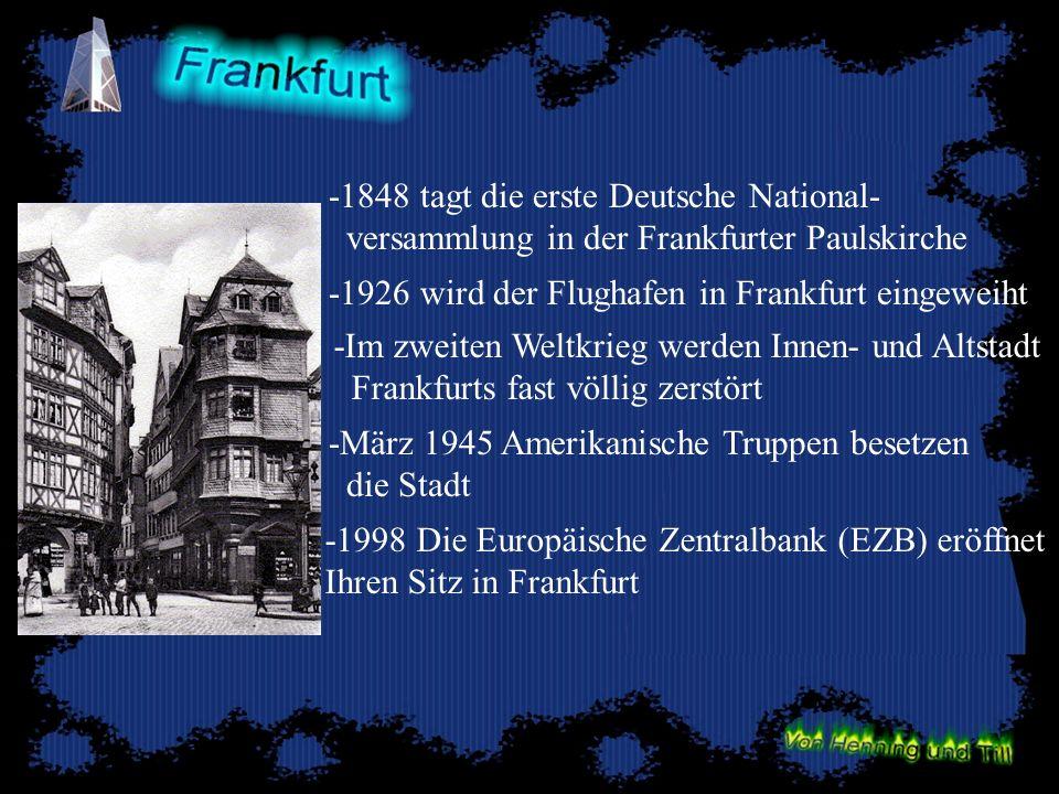 -1848 tagt die erste Deutsche National-