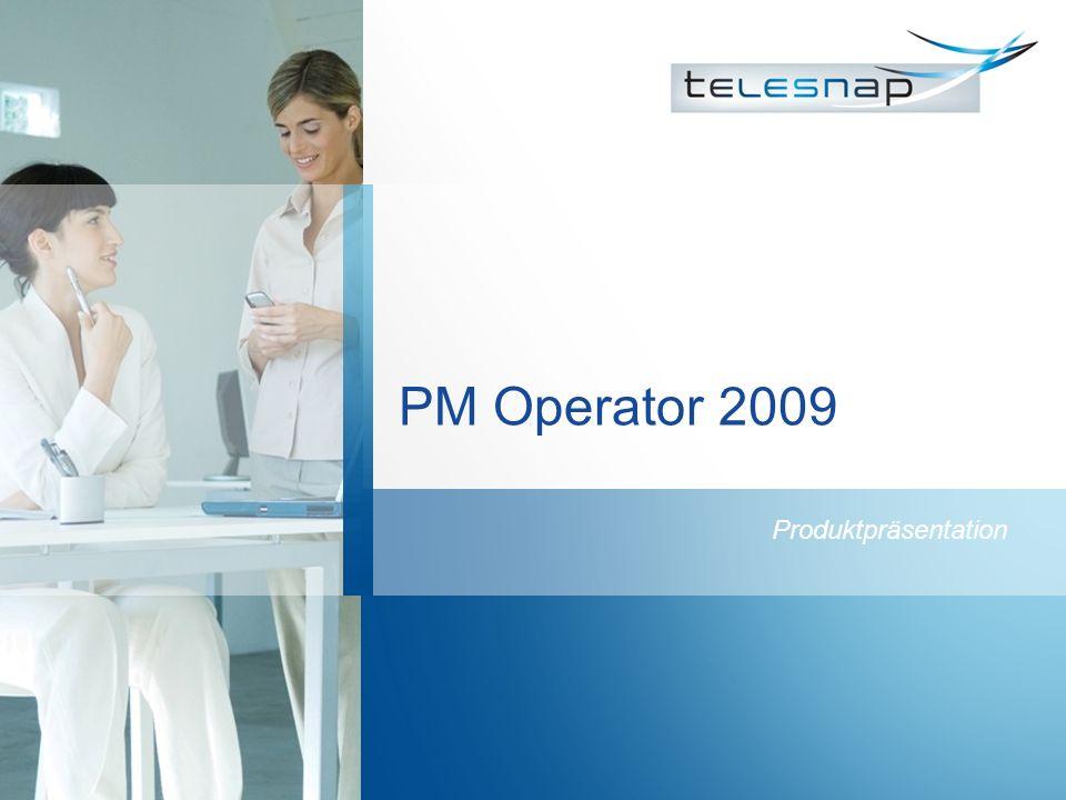 PM Operator 2009 Produktpräsentation