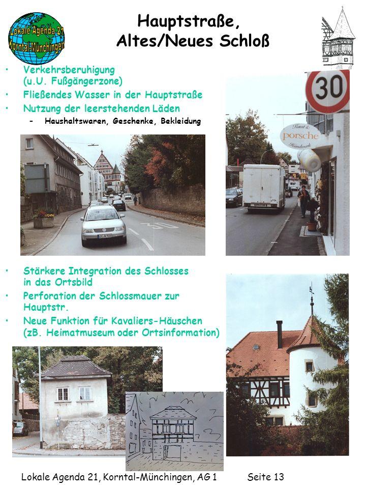 Hauptstraße, Altes/Neues Schloß