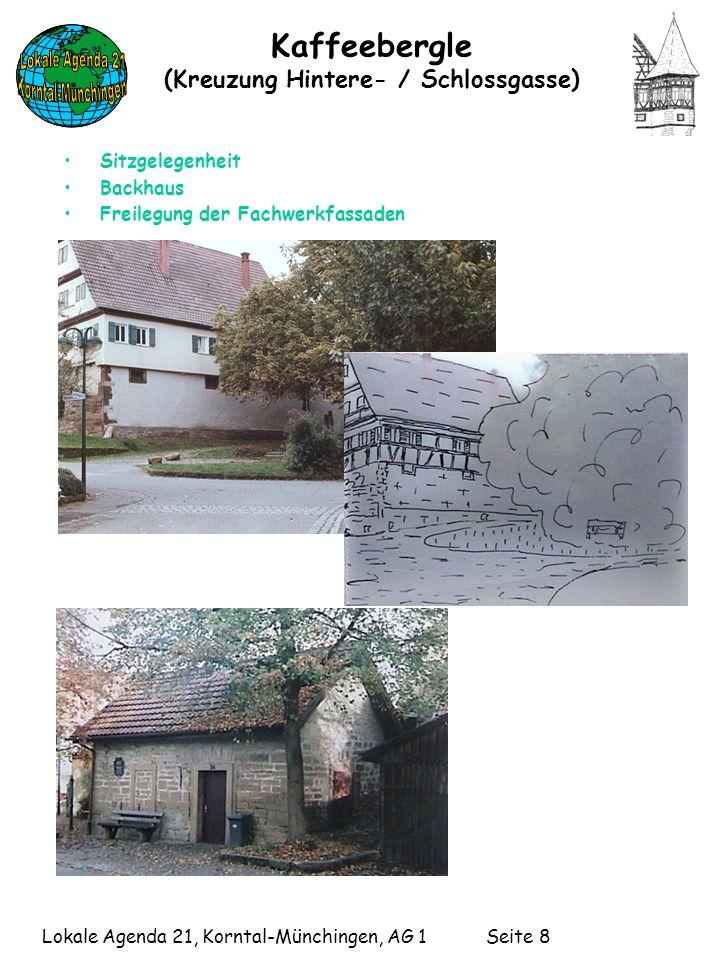 Kaffeebergle (Kreuzung Hintere- / Schlossgasse)