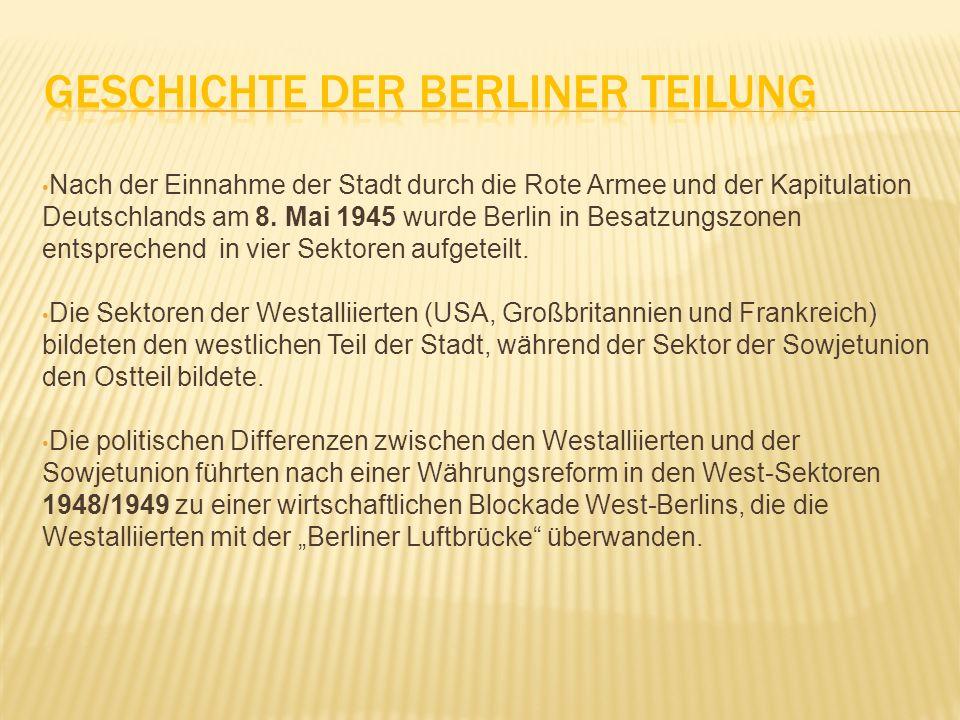 Geschichte der Berliner Teilung