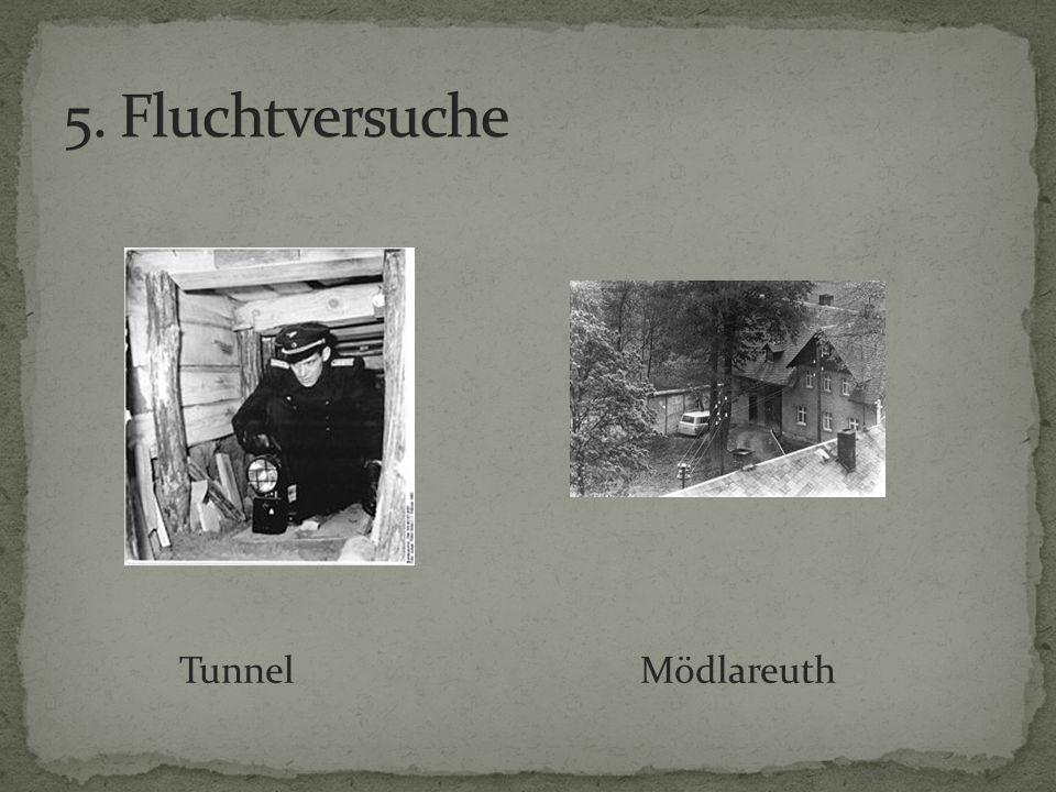 5. Fluchtversuche Tunnel Mödlareuth
