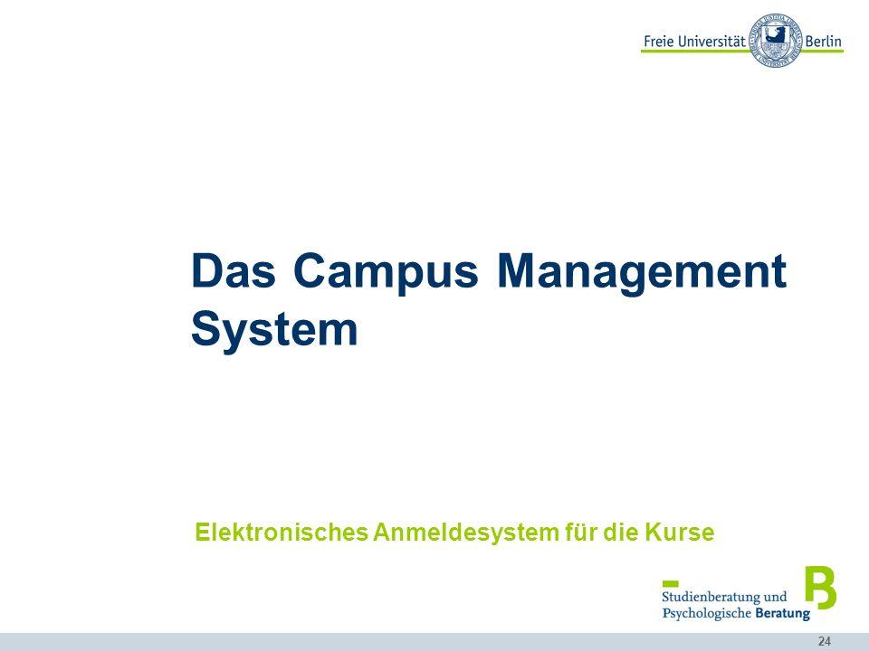 Das Campus Management System