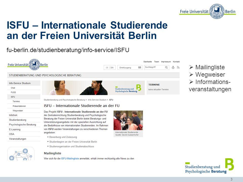 an der Freien Universität Berlin