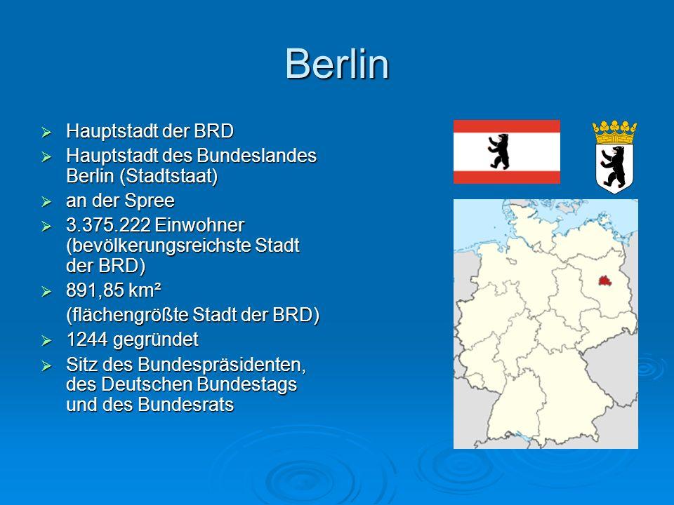 Berlin Hauptstadt der BRD
