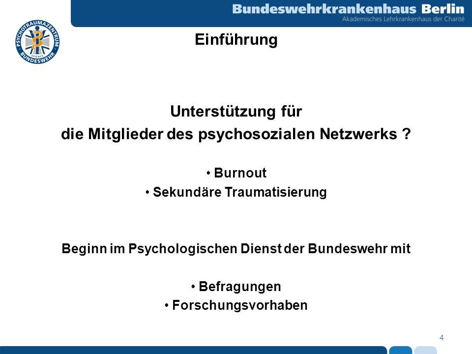 die Mitglieder des psychosozialen Netzwerks