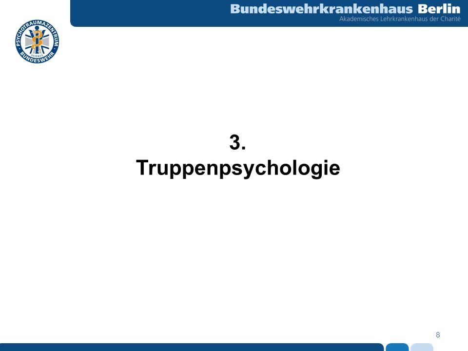 3. Truppenpsychologie