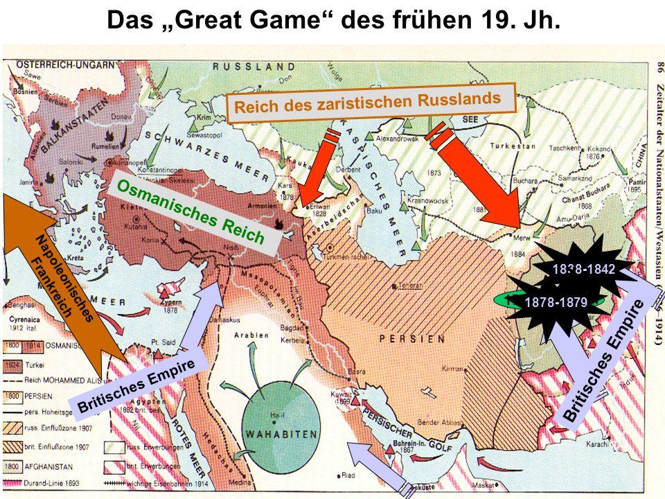 """Das """"Great Game des frühen 19. Jh."""
