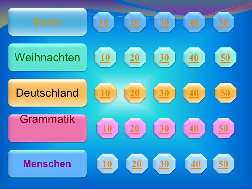 Berlin Weihnachten Deutschland Grammatik 10 20 30 40 50 10 20 30 40 50
