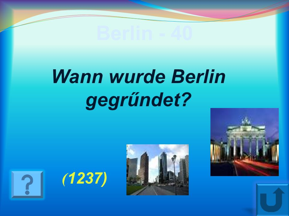 Wann wurde Berlin gegrűndet
