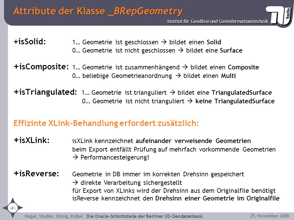Attribute der Klasse _BRepGeometry