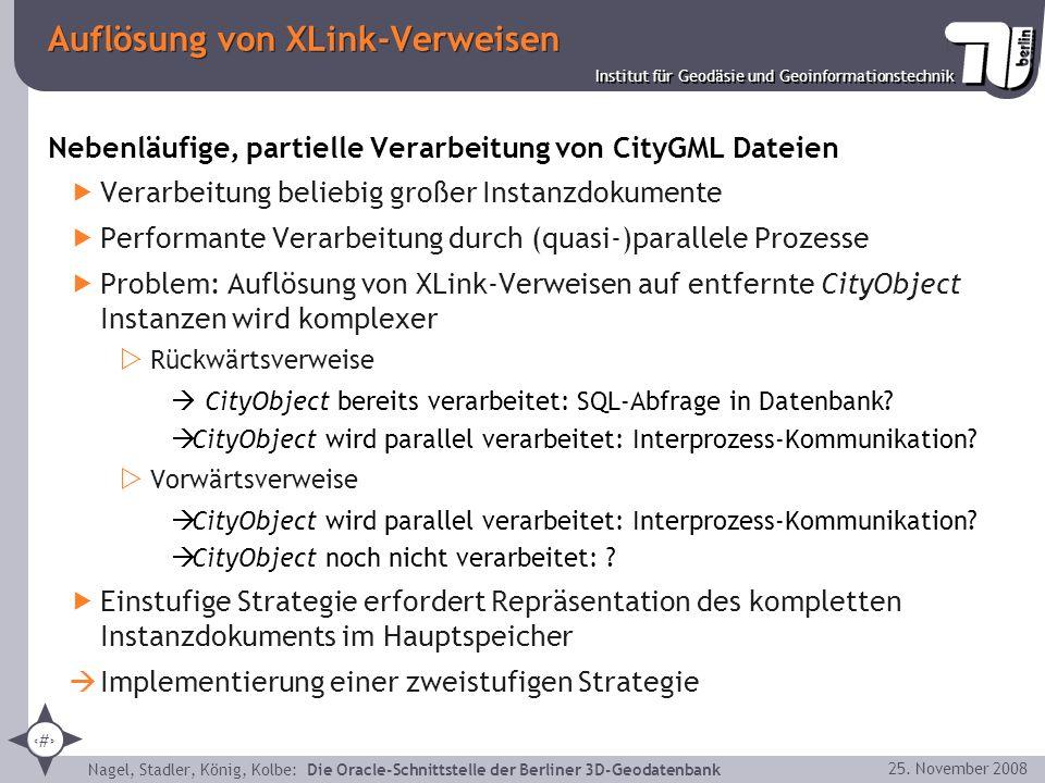 Auflösung von XLink-Verweisen