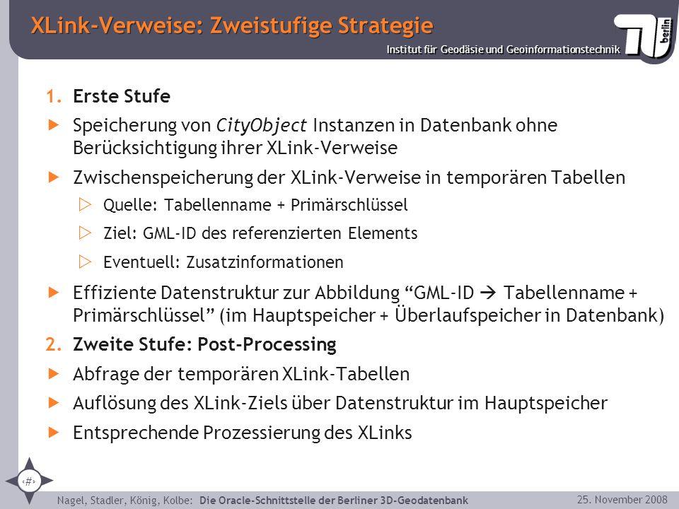 XLink-Verweise: Zweistufige Strategie