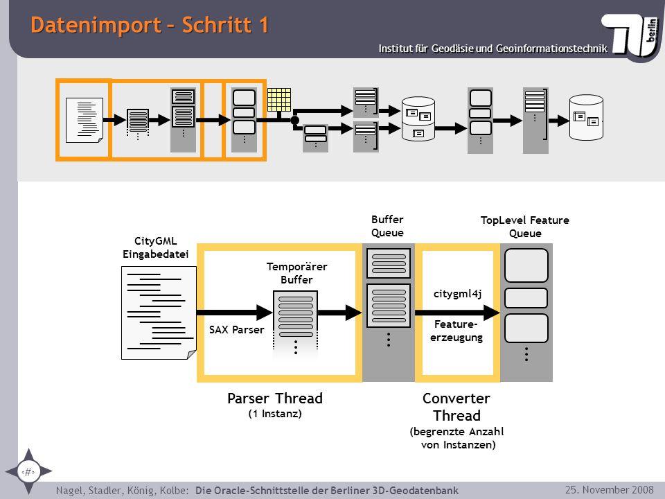 Datenimport – Schritt 1 ____ _____ ____ _____