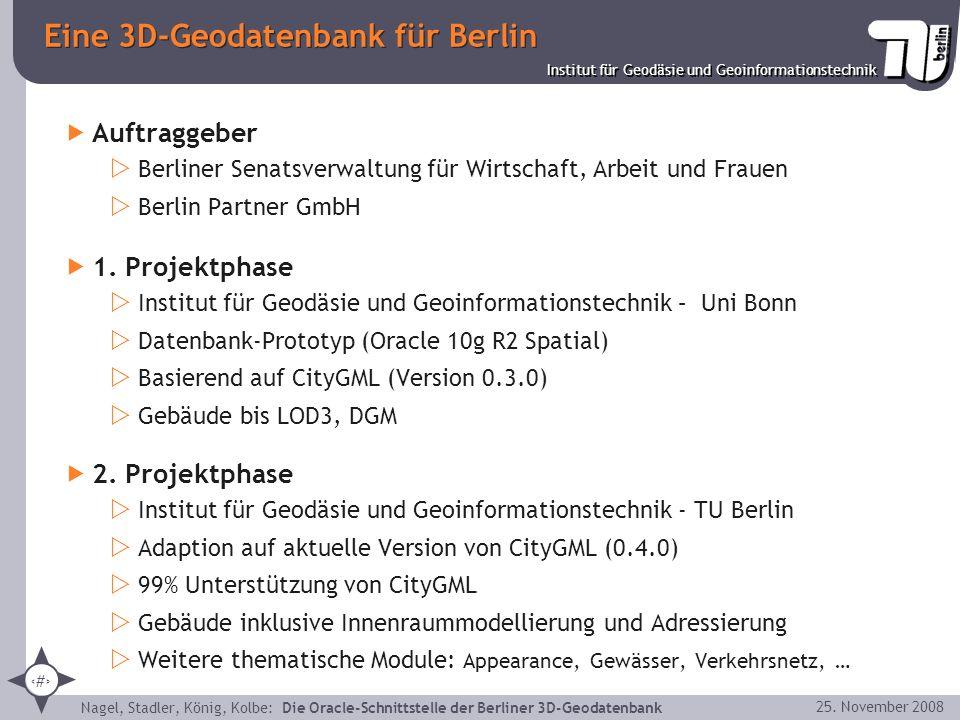 Eine 3D-Geodatenbank für Berlin