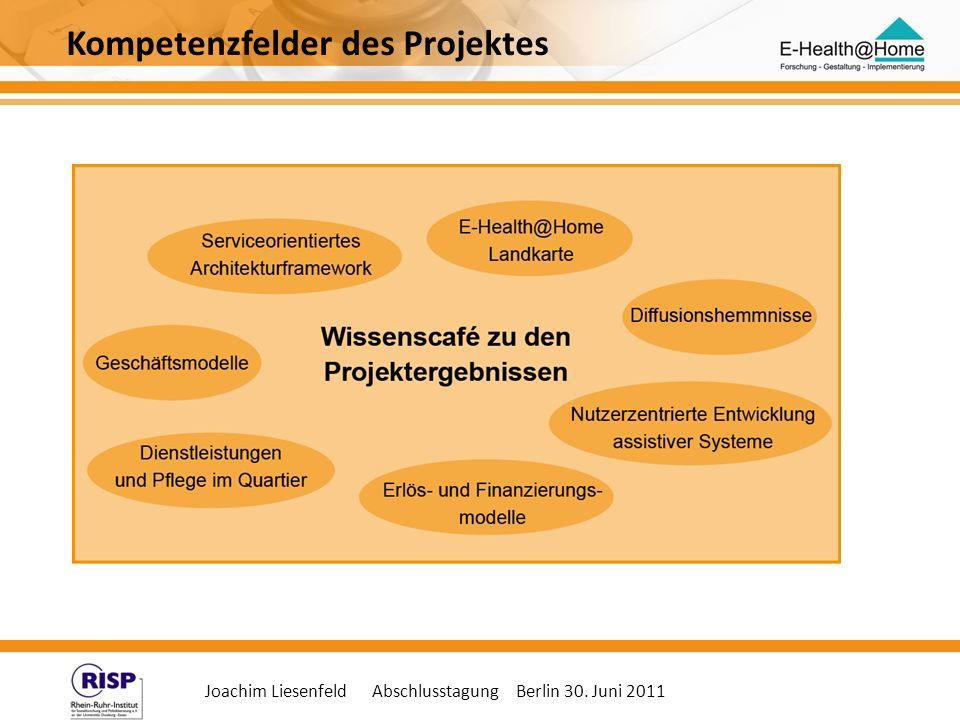 Kompetenzfelder des Projektes