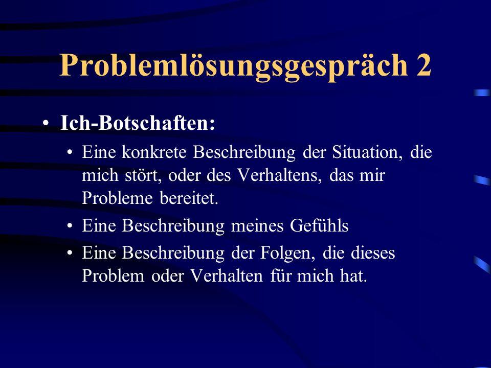 Problemlösungsgespräch 2