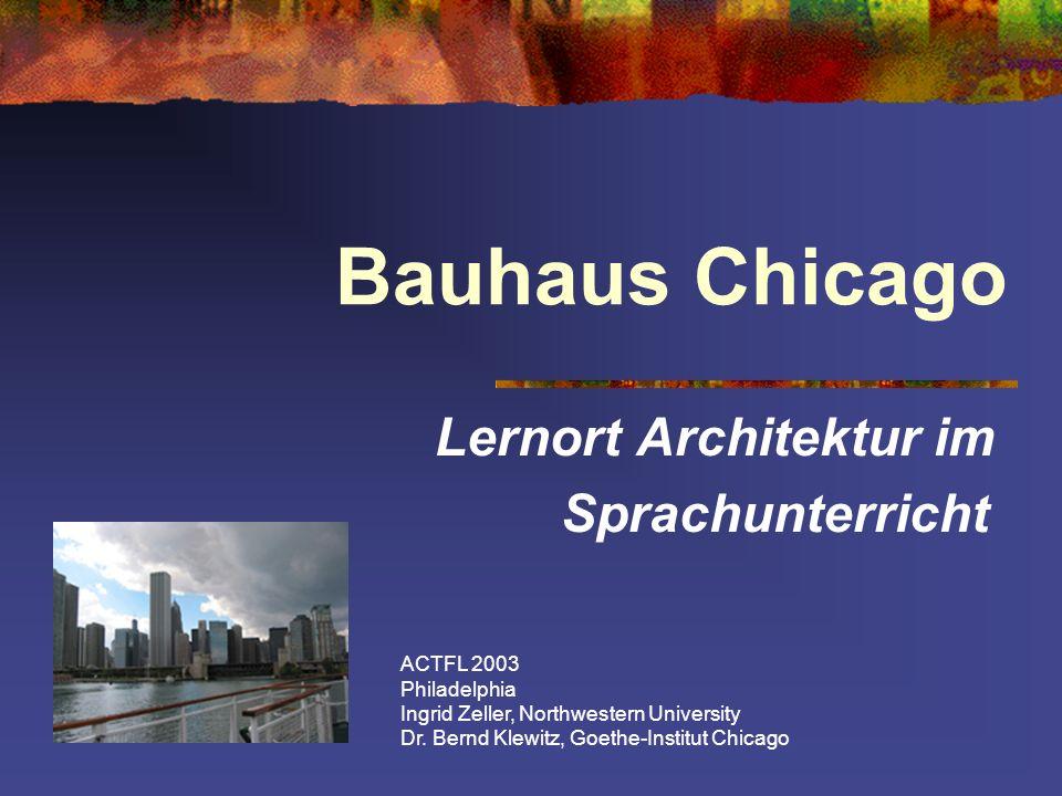 Lernort Architektur im Sprachunterricht