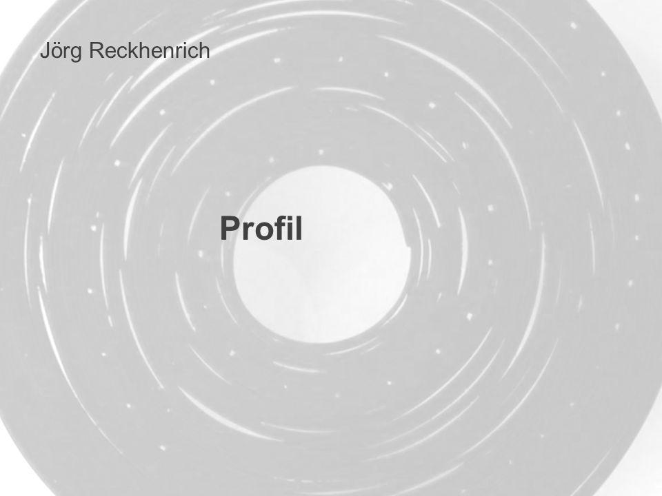 Jörg Reckhenrich Profil