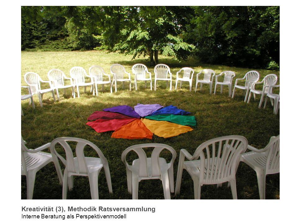 Kreativität (3), Methodik Ratsversammlung Interne Beratung als Perspektivenmodell
