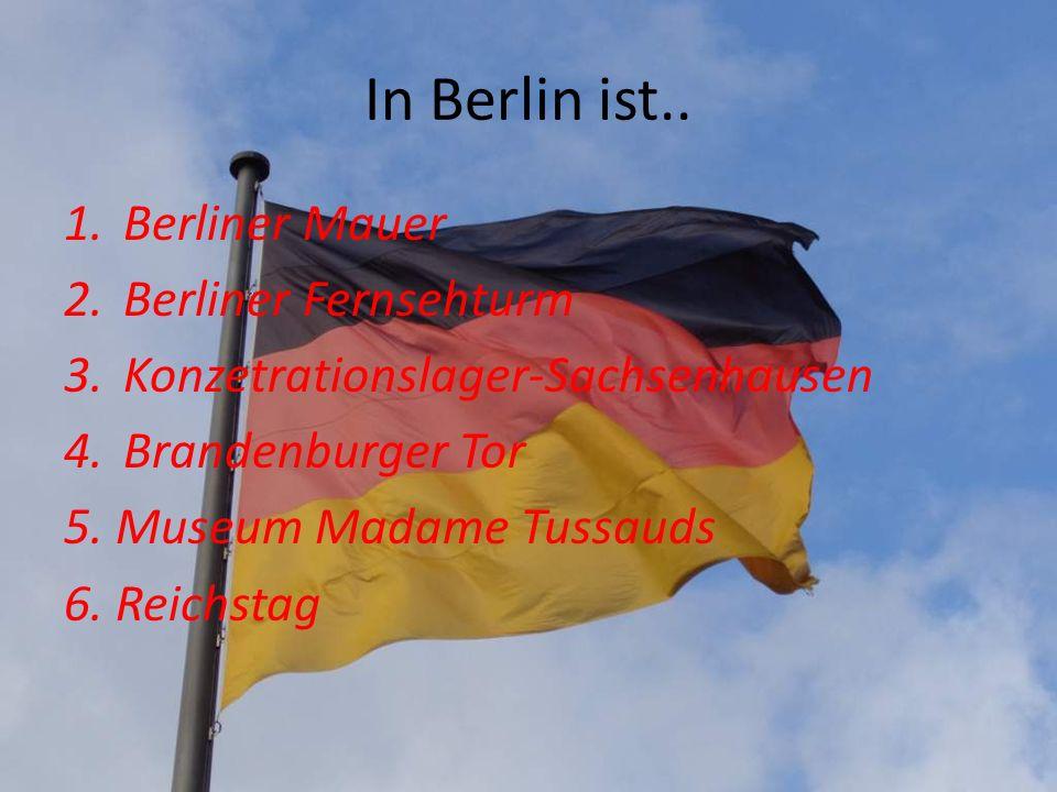 In Berlin ist.. Berliner Mauer Berliner Fernsehturm