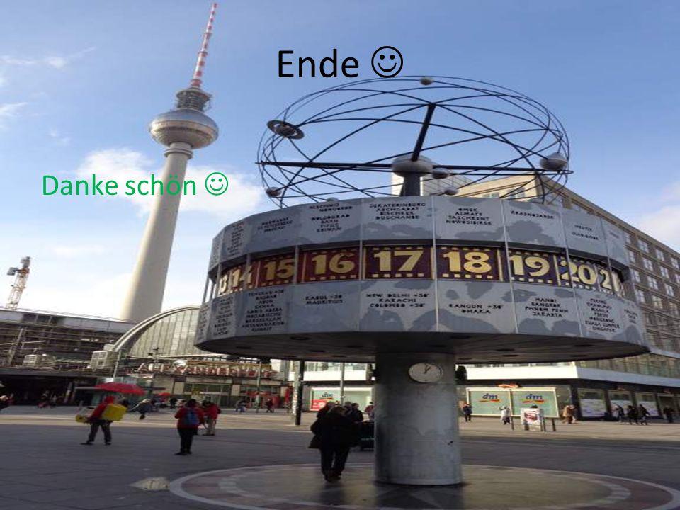 Ende  Danke schön 