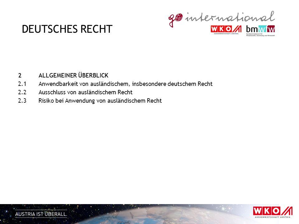 Deutsches Recht