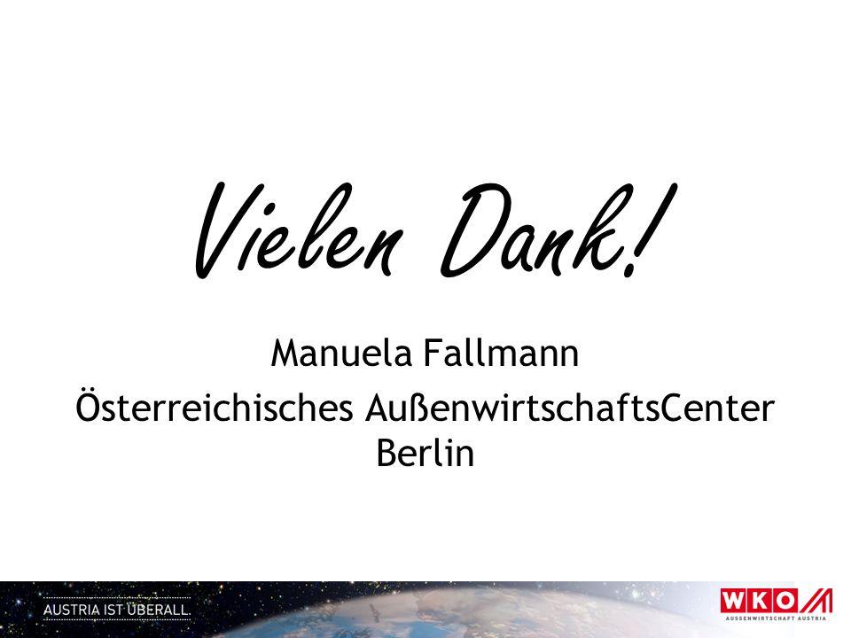 Österreichisches AußenwirtschaftsCenter Berlin